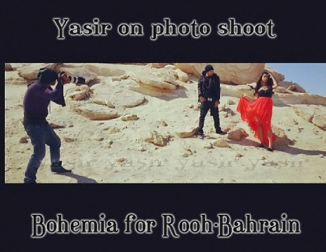 Bohemia on Photo Shoot of Rooh