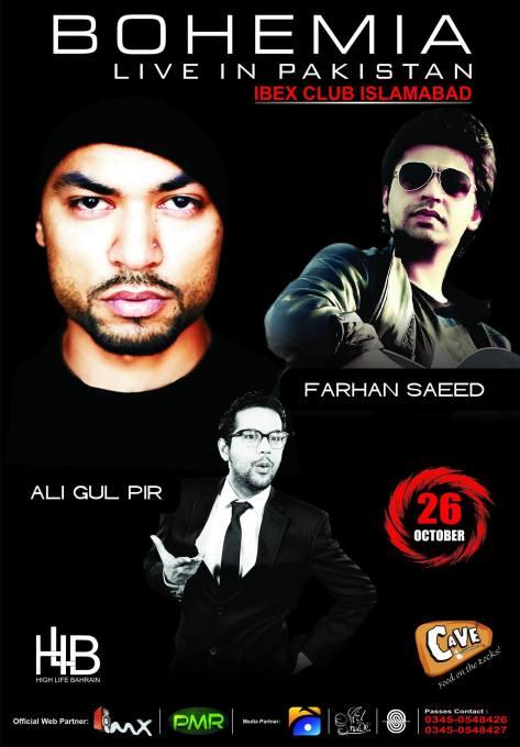 Bohemia Live with  Farhan Saeed Butt and  Ali Gul Pir