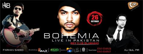 Bohemia + Farhan Saeed Butt + Ali Gul Pir
