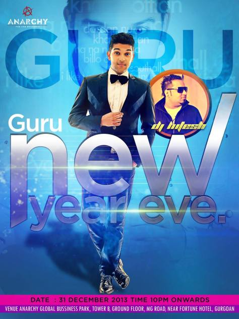 NYE with Guru- Performing At Anarchy