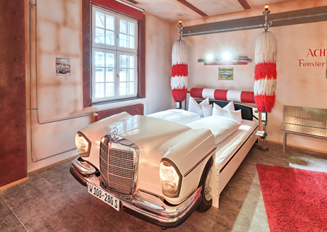 Mercedes Benz Bedroom