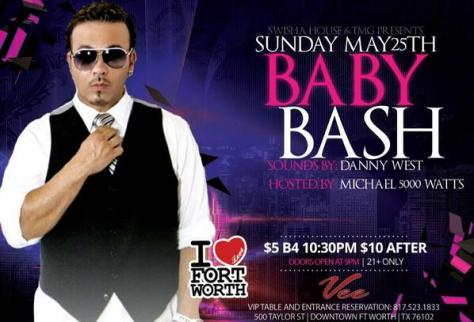 BabyBash Performing Memorial Day Ft.Worth [#DFW]