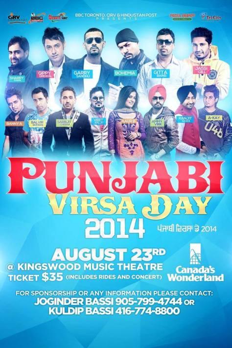 Punjabi Virsa Day
