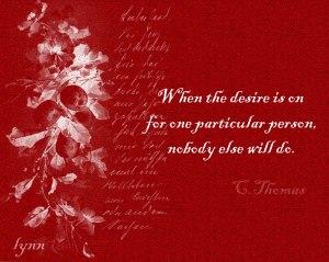 Desire....