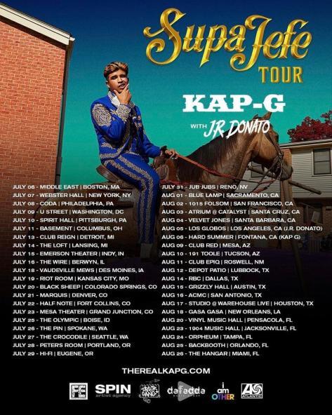 kap g tour